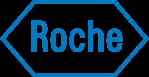 Logo van Roche, sponsor van studie en website.